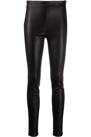 Helmut Lang High-rise biker leggings
