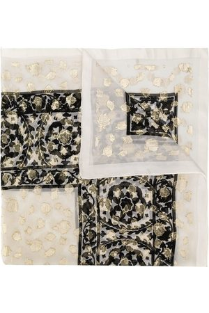 Yves Saint Laurent Floral pattern scarf
