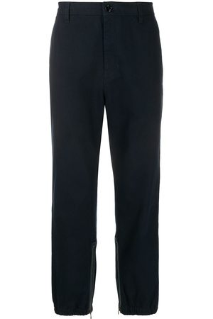 Gucci Side stripe straight-leg trousers