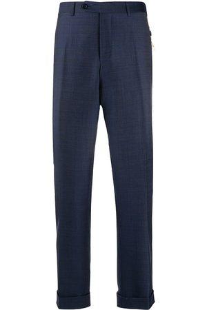 CANALI Muži Společenské - Slim-fit tailored trousers