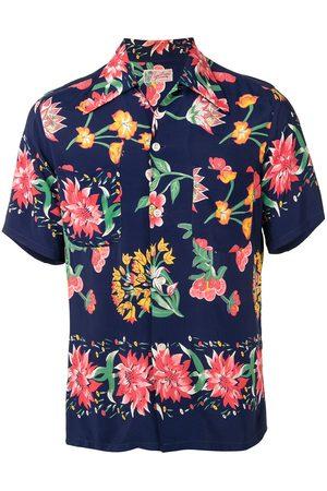 Fake Alpha Vintage 1950s floral print short-sleeved shirt