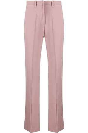 HEBE STUDIO Straight tailored trousers