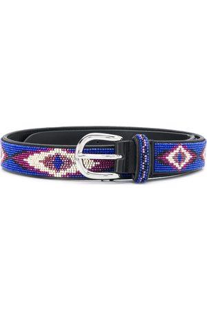 Isabel Marant Elsa beaded buckle belt