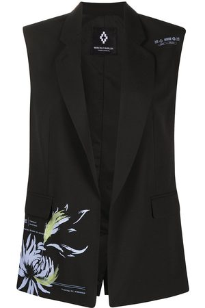 Marcelo Burlon County of Milan Flower Shipping sleeveless blazer