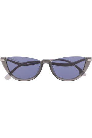 Jimmy Choo Eyewear Sluneční brýle - Ionas curved-temple sunglasses