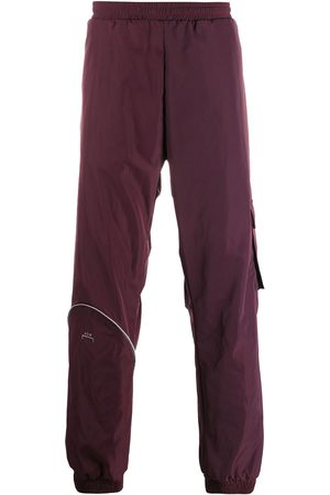 A-cold-wall* Logo straight-leg trousers
