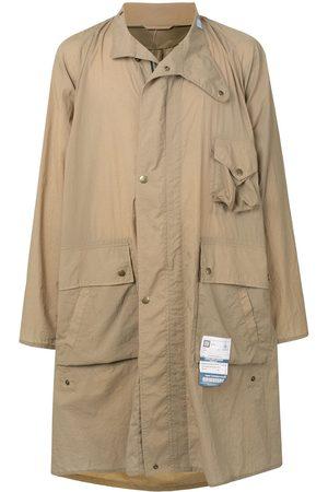 Maison Mihara Yasuhiro Long-sleeve parka coat