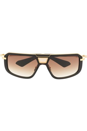 DITA EYEWEAR Muži Sluneční brýle - Two-tone square-frame sunglasses