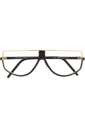 Gianfranco Ferré 1990s half-moon glasses