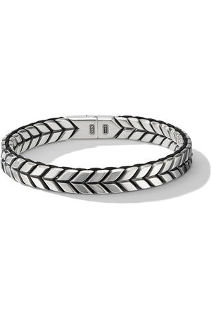 David Yurman Chevron woven bracelet