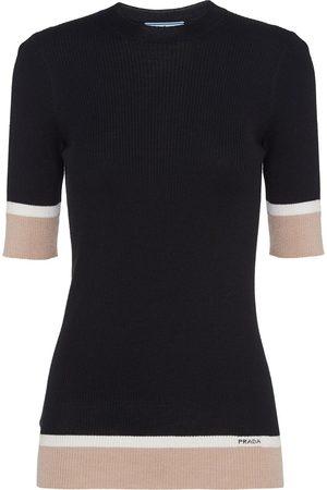 Prada Ženy S krátkým rukávem - Knitted T-shirt
