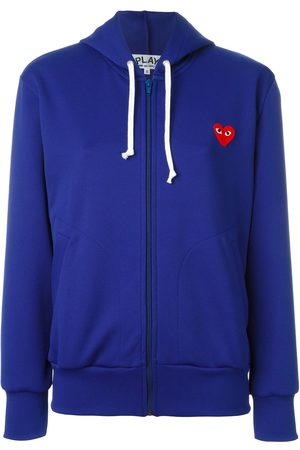 Comme des Garçons Embroidered heart hoodie