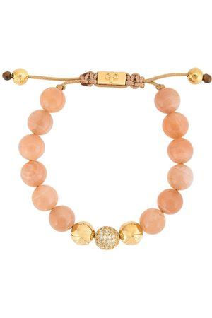 Nialaya Moonstone beaded bracelet