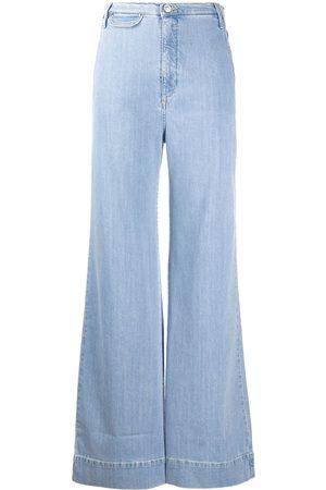 KATHARINE HAMNETT LONDON High rise flared jeans