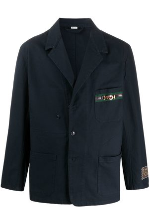 Gucci Cardboard-label oversized blazer