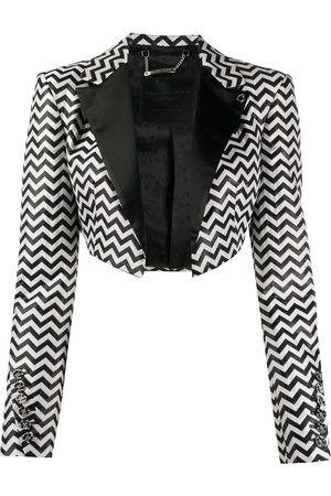 Philipp Plein Bolero Rock cropped jacket