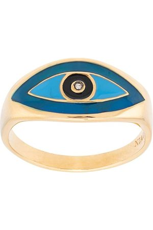 Nialaya Evil eye ring