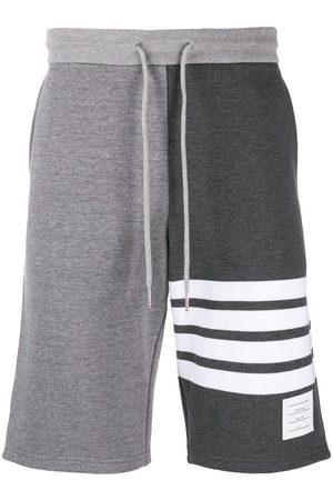 Thom Browne Classic Sweat Shorts in Classic Loop Back W/ Engineered 4 Bar