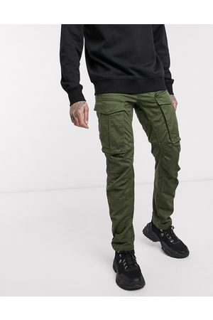 G-Star Rovic Zip 3D straight tapered fit trousers in khaki-Green