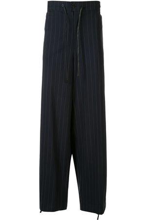 3.1 Phillip Lim Pinstripe print straight-leg trousers