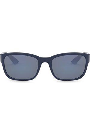 Prada Linea Rossa rectangular-frame sunglasses