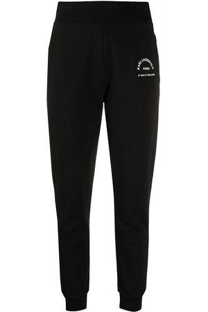 Karl Lagerfeld Address logo track pants