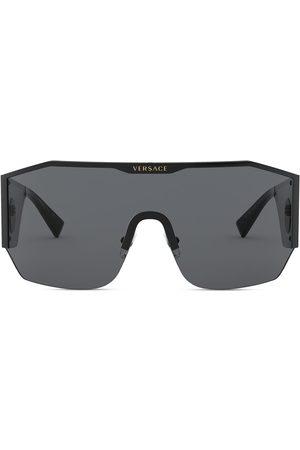 VERSACE Oversized mask sunglasses