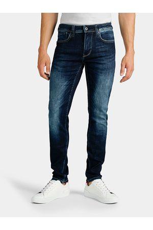Pepe Jeans Pánské tmavě modré džíny Finsbury