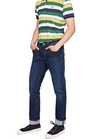 Pepe Jeans Muži Džíny - Pánské tmavě modré džíny Cash