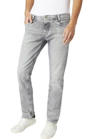 Pepe Jeans Muži Džíny - Pánské šedé džíny Spike