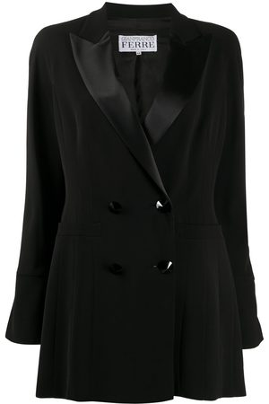 Gianfranco Ferré 1990s double-breasted relaxed-fit blazer
