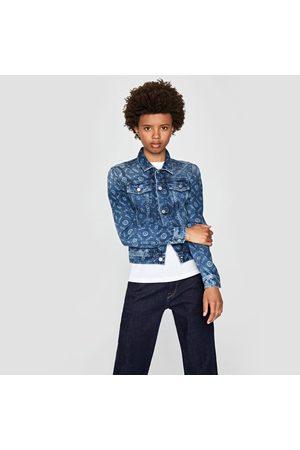 Pepe Jeans Ženy Džínové bundy - Dámská džínová bunda Maddie Logo