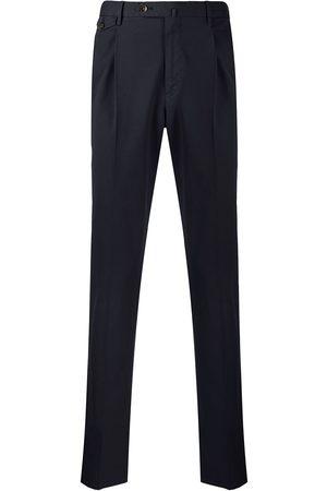 PT01 Muži Společenské - Straight-leg tailored trousers