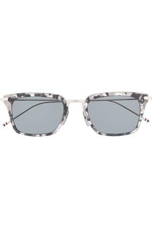 Thom Browne Sluneční brýle - Wayfarer rectangular-frame sunglasses