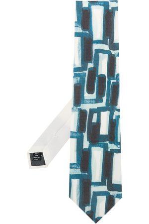 Gianfranco Ferré 1990s abstract print neck tie