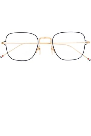 Thom Browne Thin square-frame glasses