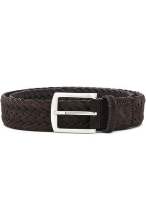 Scarosso Square buckle interwoven belt