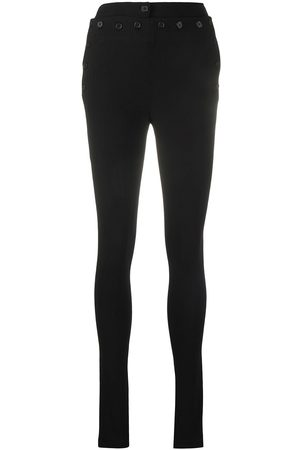 Ann Demeulemeester Buttoned skinny fit trousers