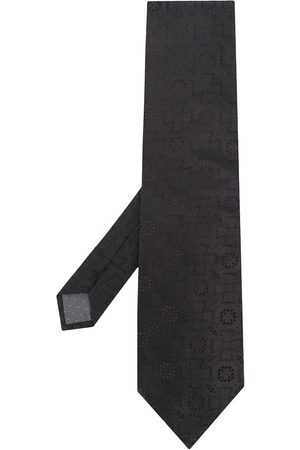 Gianfranco Ferré 1990s embroidered tie