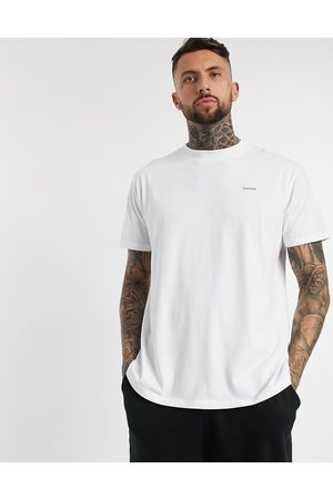 Night Addict Oversized Limited chestprint tee-White