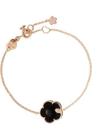 Pasquale Bruni Ženy Náramky - 18kt rose gold Petit Joli onyx and diamond bracelet