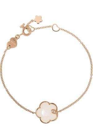 Pasquale Bruni 18kt rose gold agate and diamond bracelet