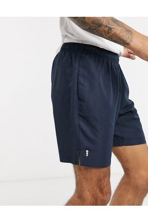 New Look SPORT recycled polyester running shorts in navy