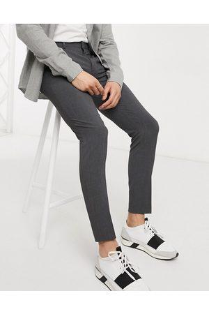 ASOS Super skinny smart trousers in charcoal-Grey