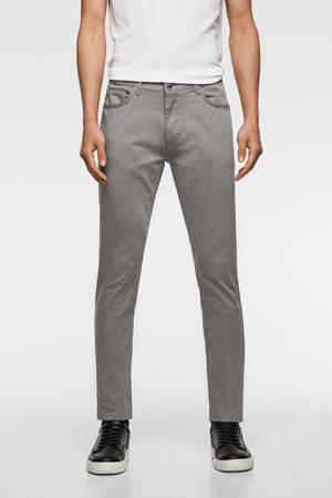 Zara Barevné kalhoty skinny
