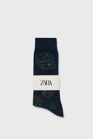 Zara Muži Ponožky - žakárové ponožky se vzorem paisley