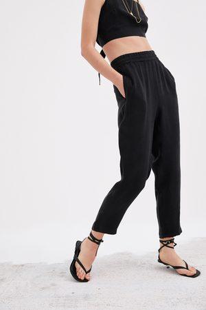 Zara Splývavé kalhoty jogger