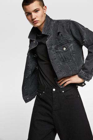 Zara Džínová bunda s nášivkou