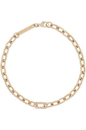 Zoe Chicco 14kt gold chain pavé diamond bracelet