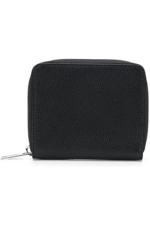 Maison Margiela Zip-around grainy leather wallet